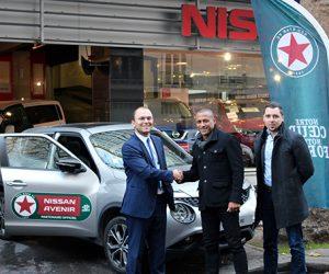 Nissan Avenir nouveau Partenaire Officiel du Red Star