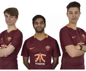L'AS Roma lance son équipe eSports sur FIFA 17 avec Fnatic