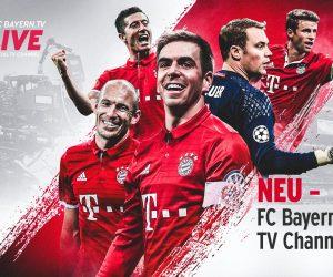 Le Bayern Munich lance sa chaîne de télévision payante avec FC Bayern.TV live