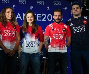 Le hashtag #France2023 sur le maillot du XV de France, une visibilité pour rassembler économiquement