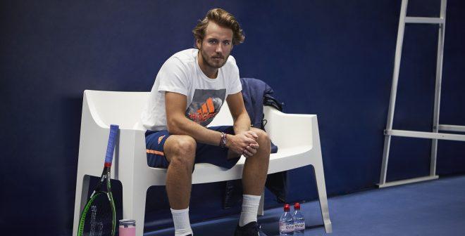 Tennis – Lucas Pouille nouvel ambassadeur d'Evian