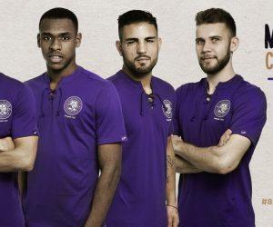 Le Toulouse Football Club dévoile son maillot collector «80 ans» old school et vierge de sponsors