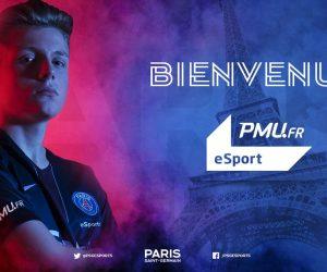 Le PMU devient sponsor maillot manche du PSG eSports