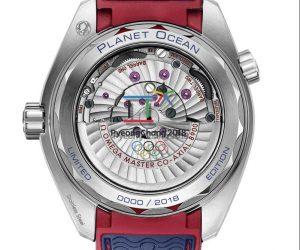 A 1 an des JO d'hiver de PyeongChang, Omega lance une montre limitée à 2018 exemplaires