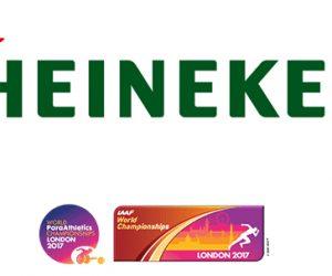 Heineken s'associe aux Championnats du Monde d'athlétisme de Londres 2017