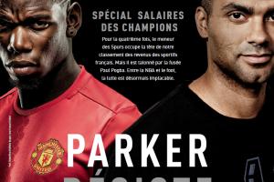 Les 50 sportifs français les mieux payés en 2016 (Magazine L'Equipe)