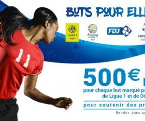 Ligue 1, Ligue 2 : 500€ par but marqué ce week-end pour soutenir des projets de foot féminin