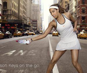 Sponsoring – Madison Keys signe avec Evian