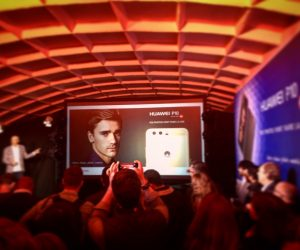 Antoine Griezmann nouvel ambassadeur de Huawei