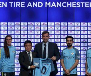 Manchester City devient le premier club de Premier League à officialiser son futur sponsor maillot manche