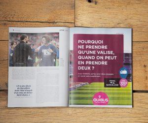 OUIBUS chambre le FC Barcelone avant le match retour contre le PSG