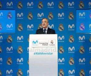 Telefonica (Movistar) nouveau partenaire du Real Madrid