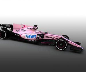 F1 – La Sahara Force India devient rose suite à l'arrivée de BWT comme nouveau sponsor
