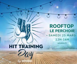 WINDOO LANCE LE «HIT TRAINING DAY» SUR LE ROOFTOP DU PERCHOIR