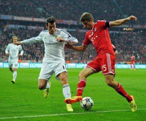 1/4 de finales UEFA Champions League – Une seule rencontre entre un même équipementier