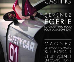 Casting – Le circuit Paul Ricard cherche son égérie