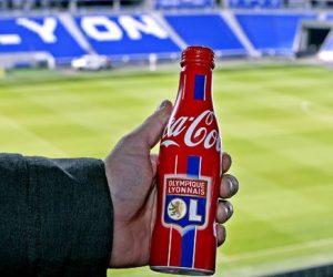 2€ – Le prix de la bouteille 25cl Coca-Cola / OL
