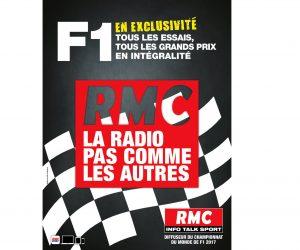 Radio – RMC diffuseur de la Formule 1 jusqu'en 2019