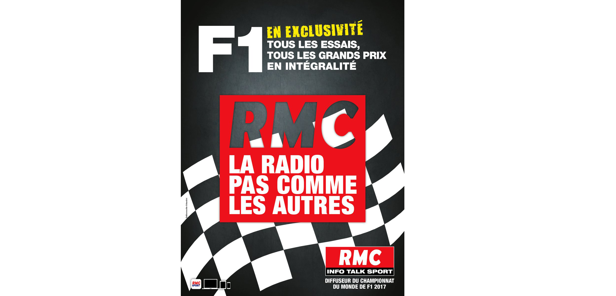radio rmc diffuseur de la formule 1 jusqu 39 en 2019. Black Bedroom Furniture Sets. Home Design Ideas