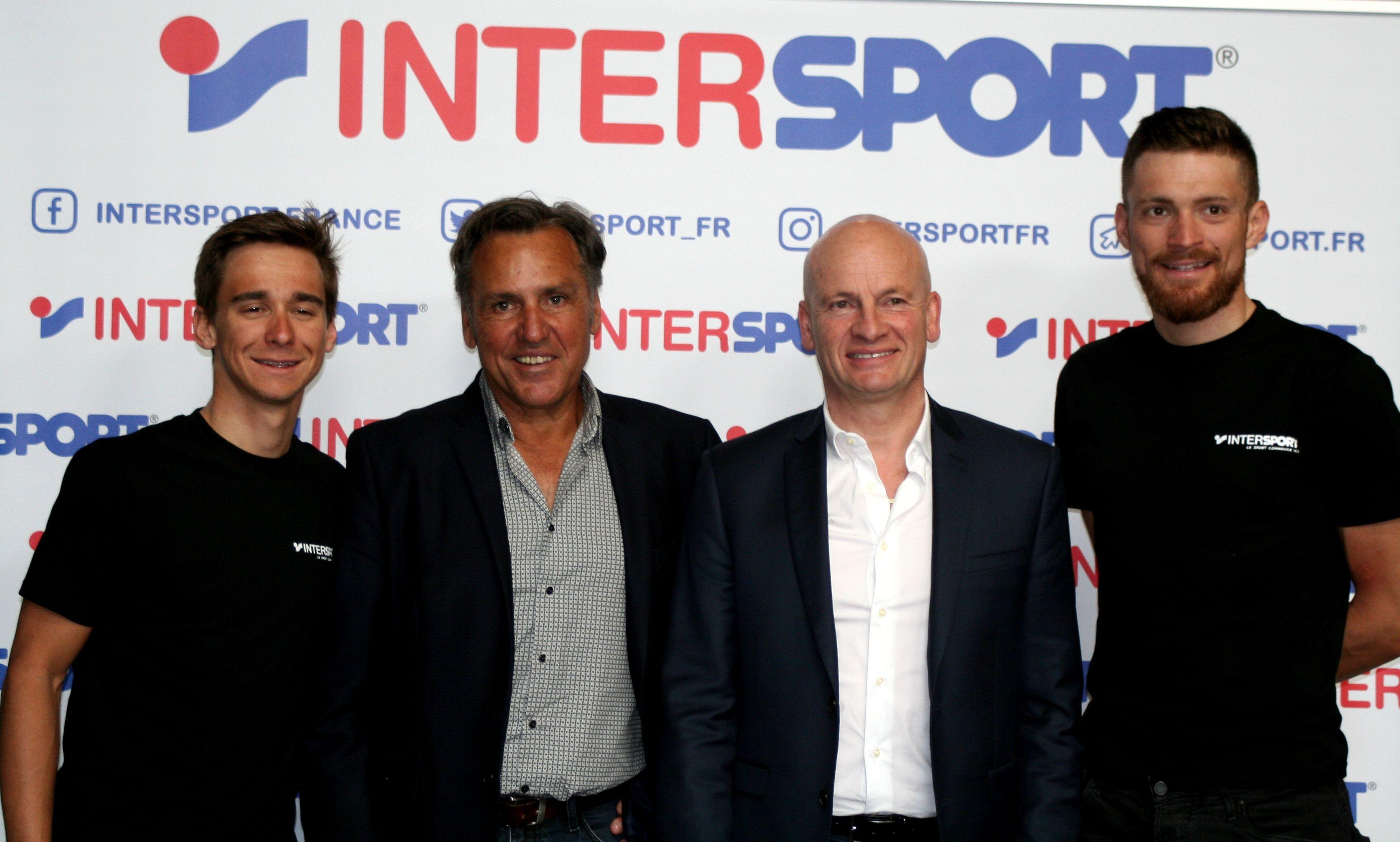 ad6d88f3c9 Cyclisme - Intersport fournisseur officiel du Team Direct Energie -  SportBuzzBusiness.fr