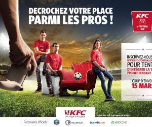 KFC offre 300€ par mois pendant 1 an à 4 joueurs de sa future team eSport