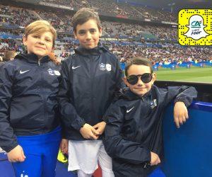 Crédit Agricole utilise Spectacles, lunettes caméra de Snapchat, lors de France – Espagne