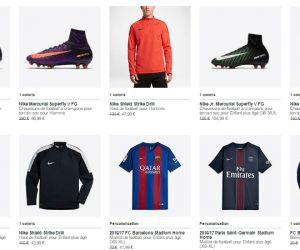Bon Plan : Jusqu'à -70% sur une sélection de produits Nike Football jusqu'au 22 mars