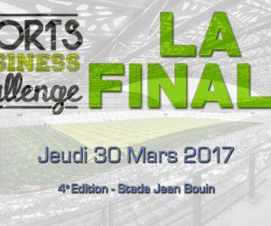Event – La Finale du Sport Business Challenge le 30 mars à Jean Bouin