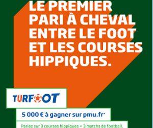 PMU.fr lance « TURFOOT », une offre qui mêle paris sportifs et hippiques sur une même grille