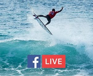 La World Surf League sera diffusée sur Facebook Live en 2017