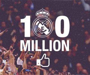 Le Real Madrid et le FC Barcelone dépassent la barre des 100M de fans sur Facebook