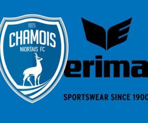Erima fait son entrée dans le foot français avec le Chamois Niortais FC