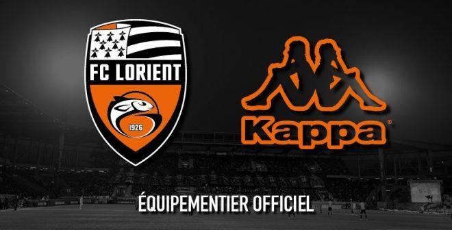 Kappa nouvel équipementier du FC Lorient jusqu'en 2022