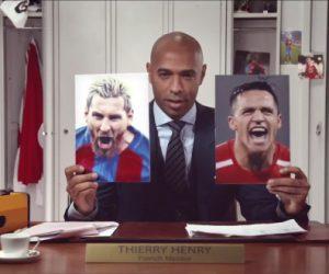 Gatorade mise sur Thierry Henry, Lionel Messi et Alexis Sanchez dans sa dernière campagne «The Future Is Unstoppable»