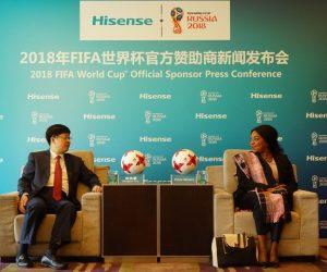 FIFA – Hisense Sponsor Officiel de la Coupe du Monde Russie 2018