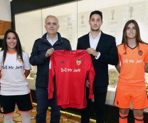 Valencia CF signe un contrat de sponsoring maillot face avec «Mr Jeff» pour son équipe féminine