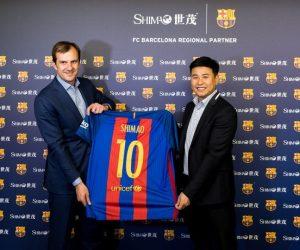 Shimao Group nouveau sponsor régional du FC Barcelone en Chine
