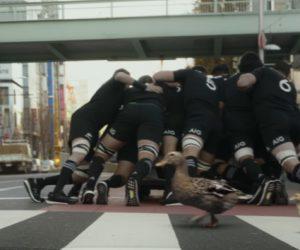 #TackleTheRisk – AIG met en scène les All Blacks dans une campagne percutante au Japon