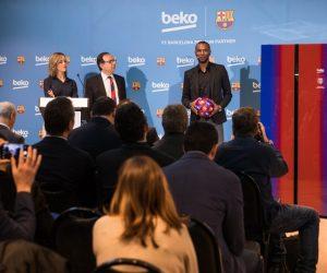 Beko lance 4 réfrigirateurs aux couleurs du FC Barcelone