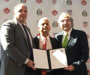 Coupe du Monde de la FIFA 2026 – Une Candidature commune Etats-Unis, Canada et Mexique