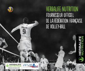 Sponsoring – Herbalife signe avec Earvin Ngapeth et la Fédération Française de Volley
