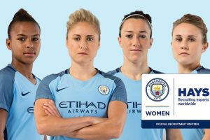 Hays partenaire recrutement officiel du Manchester City Women FC