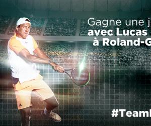 Fan Experience – Lucas Pouille offre une expérience en immersion pendant Roland-Garros