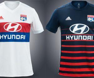 adidas dévoile les nouveaux maillots de l'Olympique Lyonnais pour 2017-2018