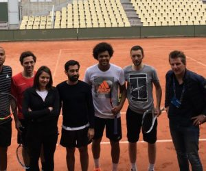 Rexona Men fait transpirer les Fans de tennis et de Jo-Wilfried Tsonga en marge de Roland-Garros