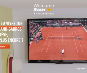 AccorHotels x Roland-Garros : «Plus de 20 000 participants» pour #MonRGdeRêve