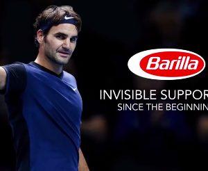 Barilla signe un contrat sponsoring avec Roger Federer