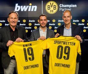 bwin nouveau partenaire du Borussia Dortmund
