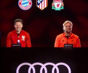 Le Bayern Munich organise une conférence de presse avec Diego Simeone et Jürgen Klopp en hologrammes 3D