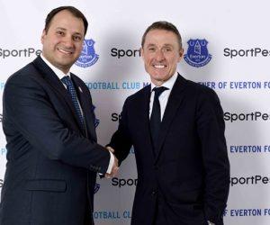 SportPesa nouveau sponsor maillot d'Everton pour un montant record